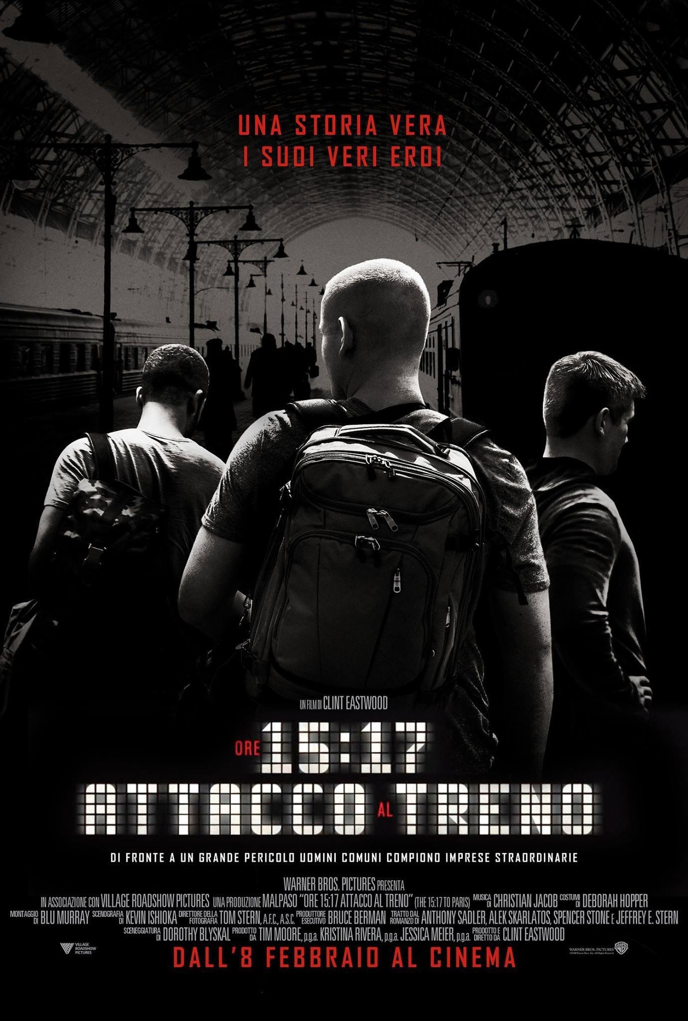 Ore 15:17 – Attacco al treno